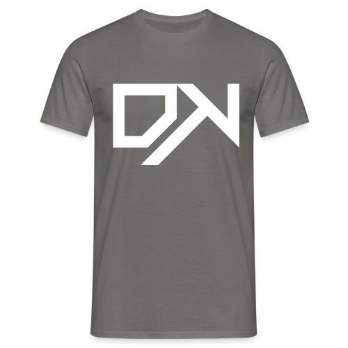 DewKee Logo Cap White - Men's T-Shirt