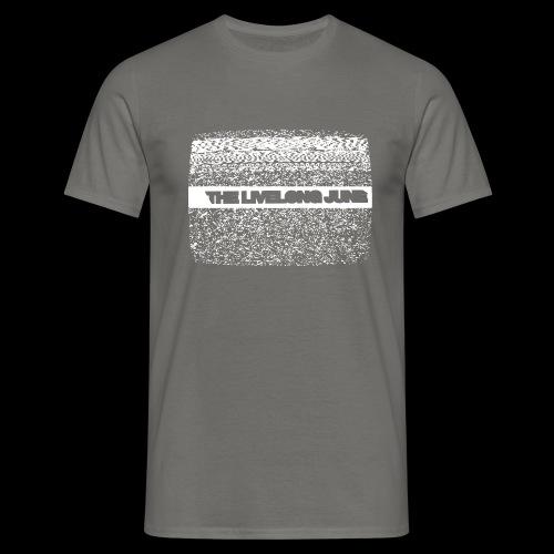 The Livelong June - Logo on white noise - T-shirt herr