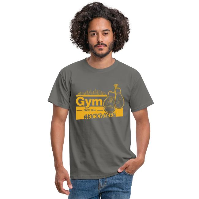 Gym Druckfarbe Orange