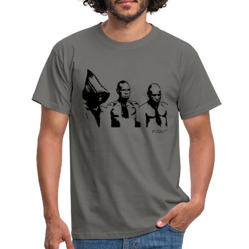 3 rotkes - Männer T-Shirt