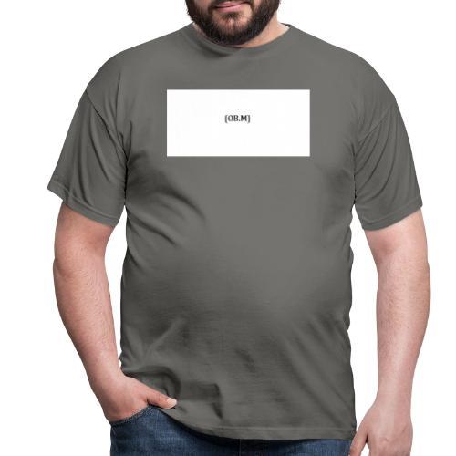 OB M LOGO - Männer T-Shirt