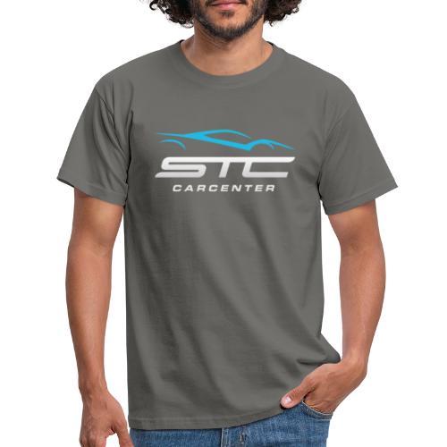 STC Carcenter Logo Vaalea - Miesten t-paita