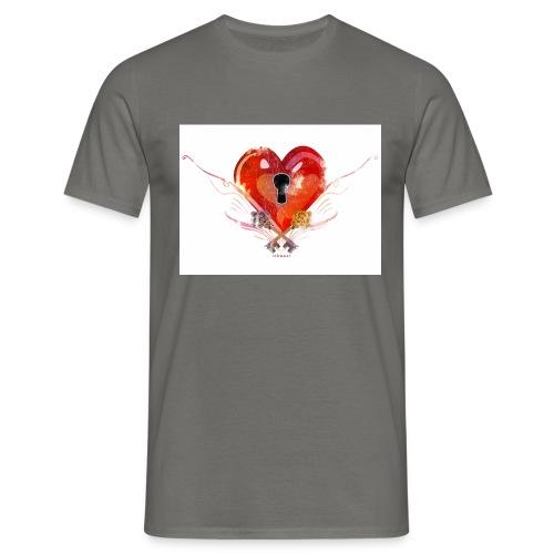 stvalentinmotif2 - T-shirt Homme