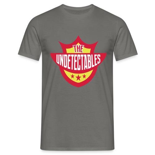 Undetectables voorkant - Mannen T-shirt