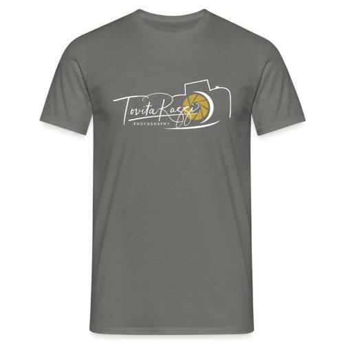Tovita Razzi Hvit logo - T-skjorte for menn