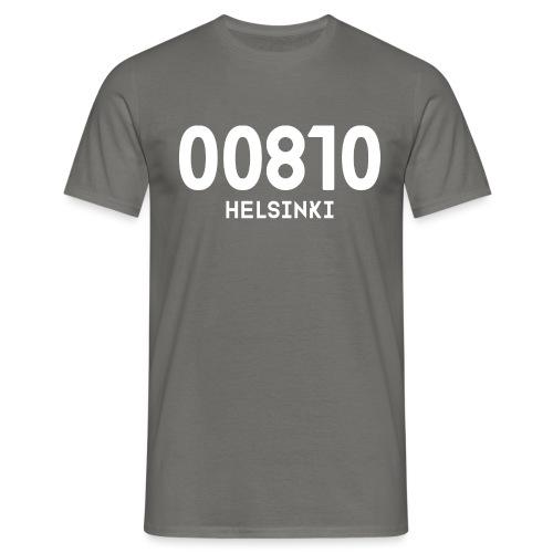 00810 HELSINKI - Miesten t-paita
