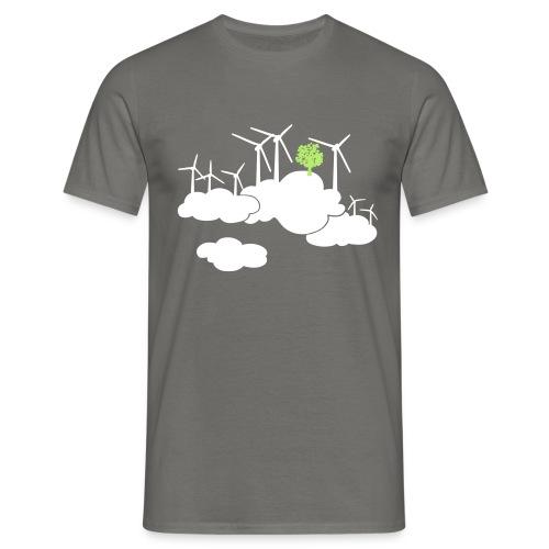 ein frischer Wind - Männer T-Shirt