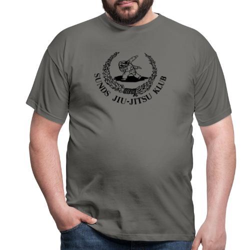 Sunds jiu-jitsuklub - logo foran - Herre-T-shirt