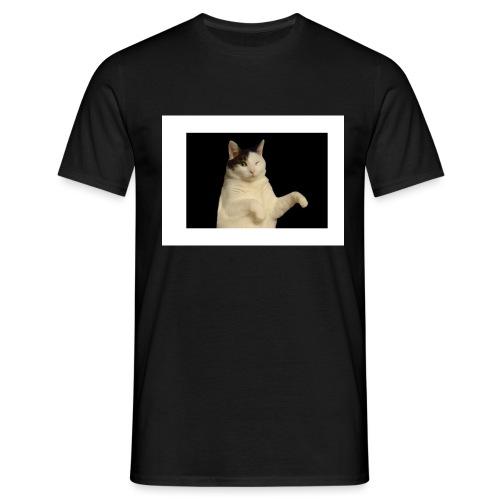 Kitty cat - Mannen T-shirt