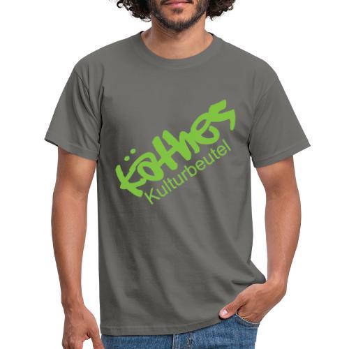 Kulturbeutel Logo - Männer T-Shirt