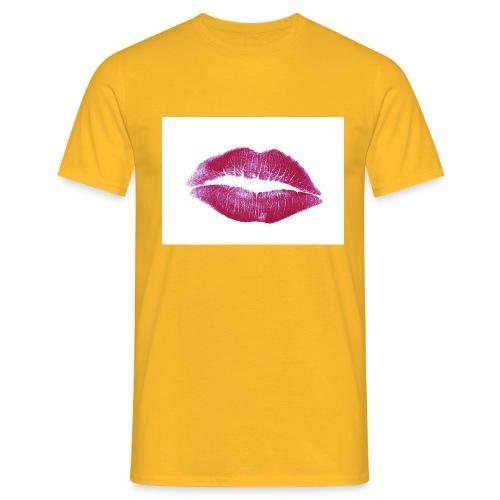 maglia bacio - Maglietta da uomo