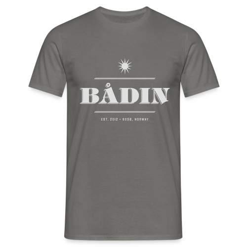 Bådin - white - T-skjorte for menn