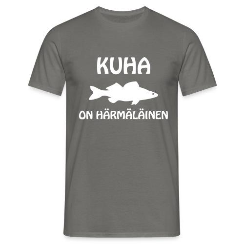 KUHA ON HÄRMÄLÄINEN - Miesten t-paita
