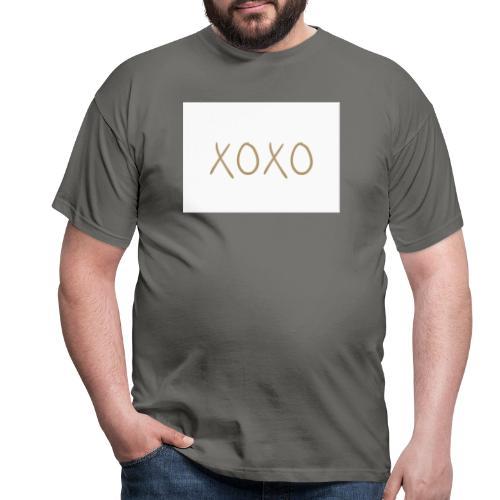 xoxo - Herre-T-shirt