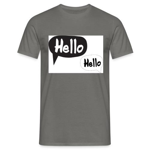 hello Design! Geschenkidee - Männer T-Shirt
