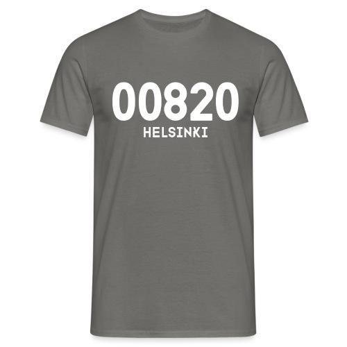 00820 HELSINKI - Miesten t-paita