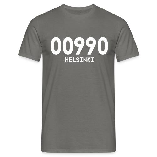 00990 HELSINKI - Miesten t-paita