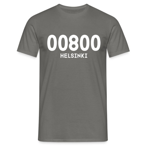 00800 HELSINKI - Miesten t-paita
