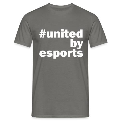United By Esports weiß - Männer T-Shirt