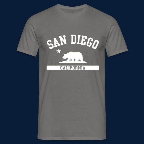 San Diego - Männer T-Shirt
