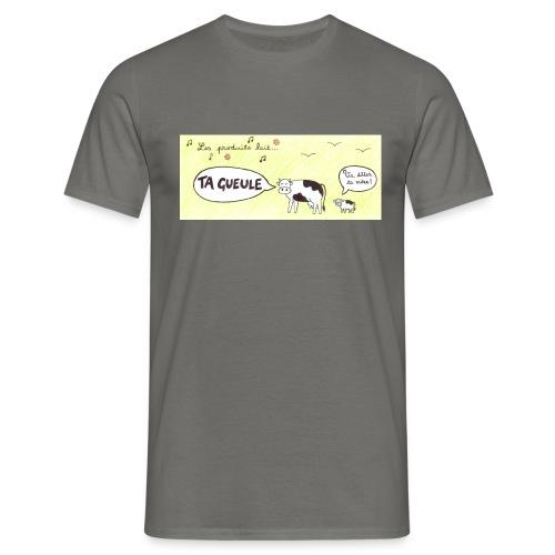 Vache pas laitière - T-shirt Homme