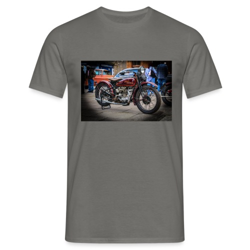the motorbike davidon style - Men's T-Shirt
