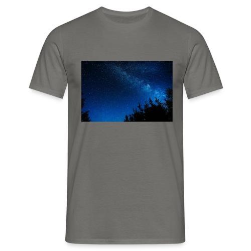 sterrenhemel afdruk/print - Mannen T-shirt