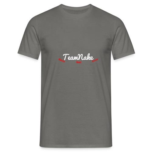 teamnake merch Namen - Mannen T-shirt