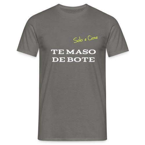 TE MASO DE BOTE - Maglietta da uomo