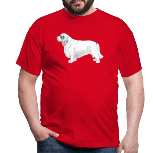 clumber spaniel - Herre-T-shirt