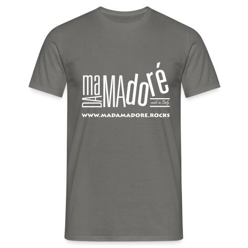T-Shirt - Donna - Logo Bianco + Sito - Maglietta da uomo