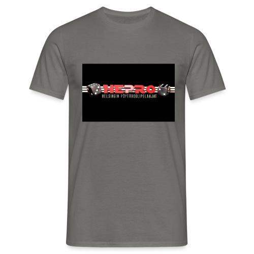 hepro logo - Miesten t-paita