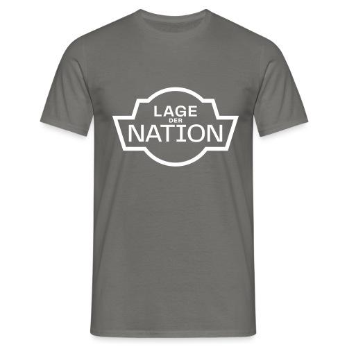 ldn logo white outline cmyk - Männer T-Shirt