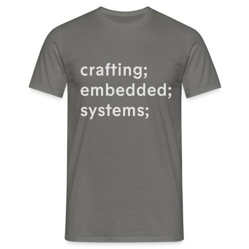 esrlabs_tagline - Men's T-Shirt