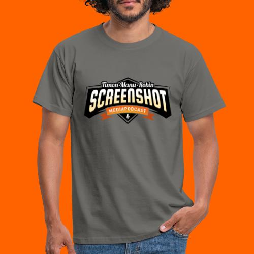Screenshot-Podcast Logo - Männer T-Shirt