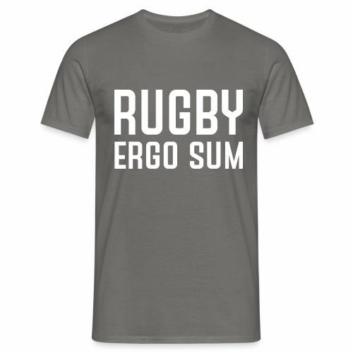 Marplo RugbyergosUM WHT - Maglietta da uomo