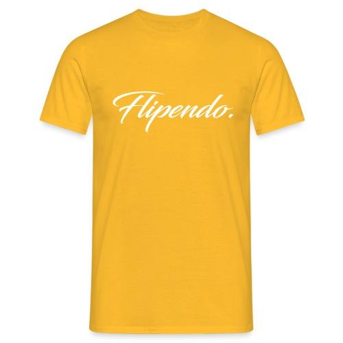 Flipendo. - Mannen T-shirt