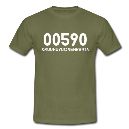 00590 KRUUNUVUORENRANTA - Miesten t-paita