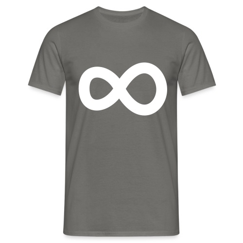 nooitaf inf vector white - Men's T-Shirt