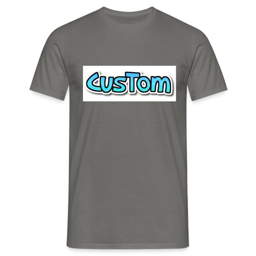 CusTom NORMAL - Mannen T-shirt