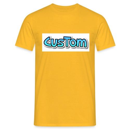 CusTom NORMAL - Mannen T-shirt