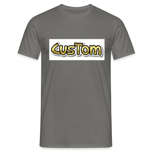 CusTom GOLD LIMETED EDITION - Mannen T-shirt