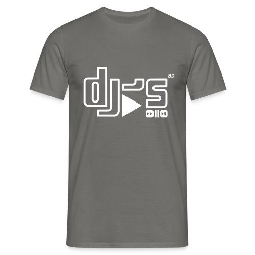 BD DJS Logo - Männer T-Shirt