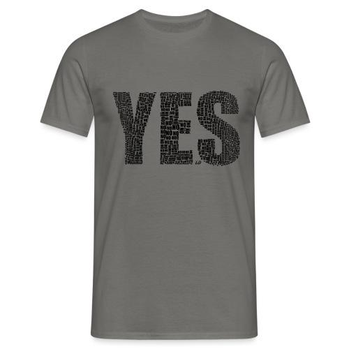 Yes - Maglietta da uomo
