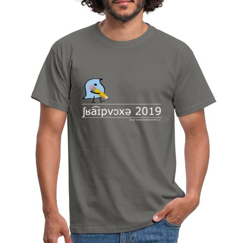 Schreibwoche 2019 (weiße Schrift) - Männer T-Shirt