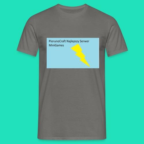 Koszulka Dla Dzieci PiorunoCraft - Koszulka męska