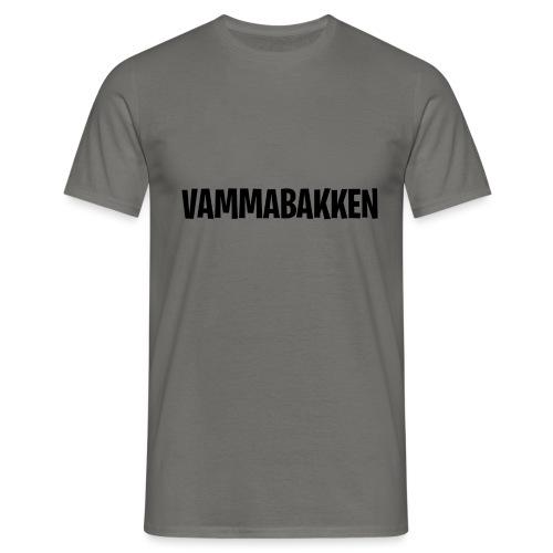 Vammabakken Merch Texten - T-shirt herr