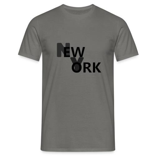 NEW YORK - Mannen T-shirt