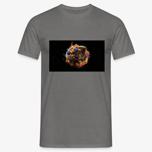 Flower Unverse - Männer T-Shirt