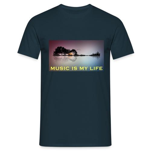 Music - Maglietta da uomo